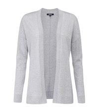 Luxuriously soft 100% extrafine merino cardi.