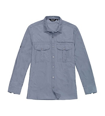 Expedition shirt with UV and insect protection.
