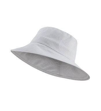 Practical, stylish linen hat.