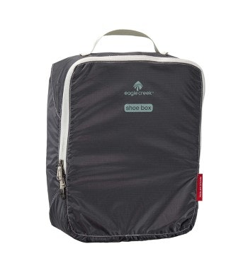 Eagle Creek™ - travel storage bag for carrying up to 3 pairs of shoes.