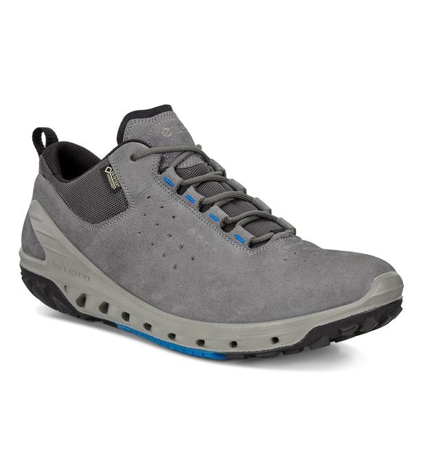 Ecco Biom Venture Gritty. £150.00. Sporty lace-up, waterproof, walking shoe.  Dark Shadow
