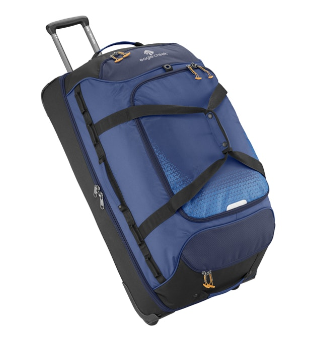 Expanse Drop Bottom Wheeled Duffel 32 - Eagle Creek - 129L wheeled suitcase offering ample storage.