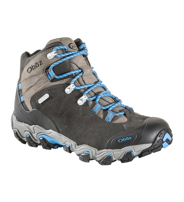 Oboz Bridger Mid B Dry - Waterproof, breathable mid-cut boots.
