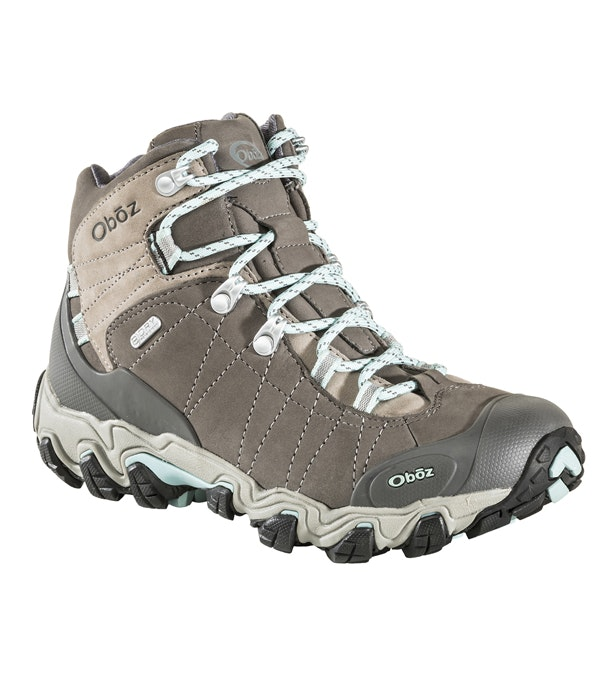 Oboz Bridger Mid Dry  - Waterproof, breathable mid-cut boots.
