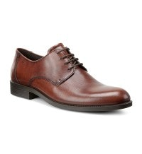 Classic leather Derby-style shoe.