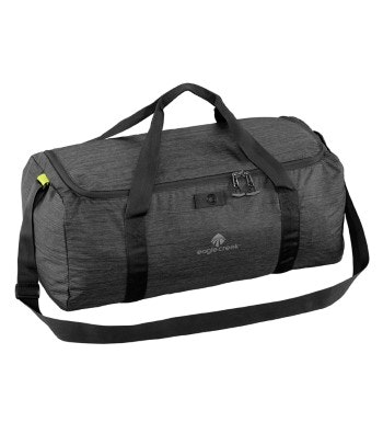 Packable, lightweight 41L duffel.