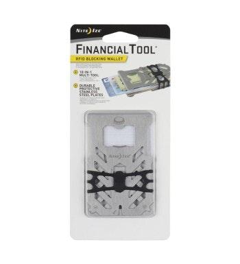 7-in-1 multi tool, slim-line wallet with RFID blocking.