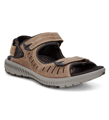 Lightweight walking sandals.
