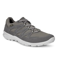 Weather protective lace-up shoes.