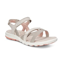 Lightweight summer sandal with soft leather uppers.