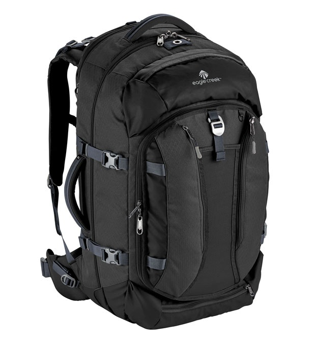 Global Companion 65L - Weatherproof travel pack with ample pockets.
