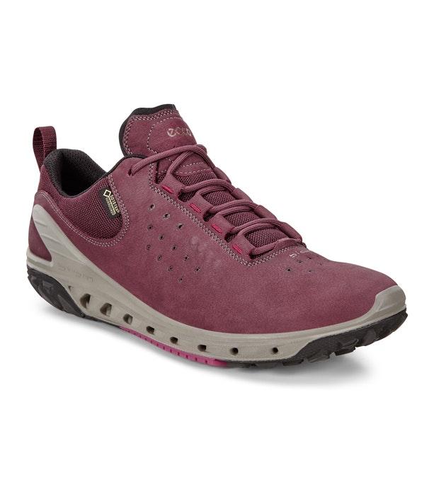 Sporty lace-up, waterproof, walking shoe.