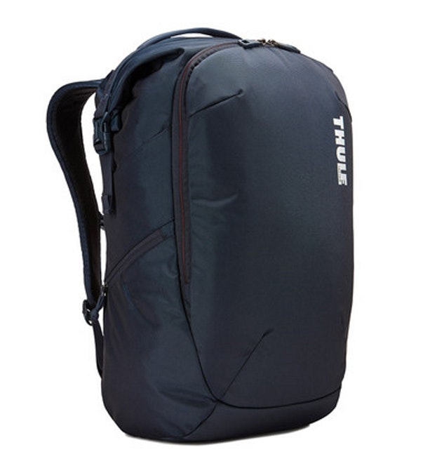 Functional travel backpack.