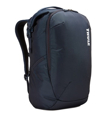 Dual-purpose travel backpack.