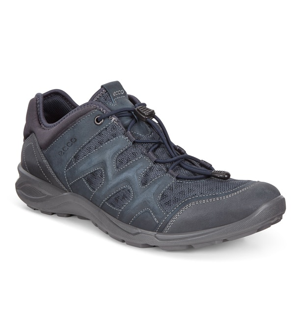 d84ec1fcf338 Ecco Terracruise Lite Leather - Lightweight mesh and leather outdoor  trainers.