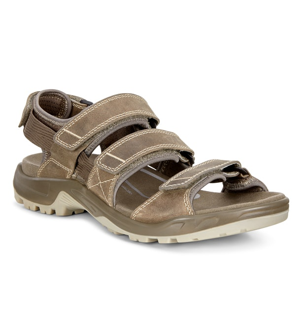 Ecco Offroad 3 Strap - Three-strap adventure travel sandal.