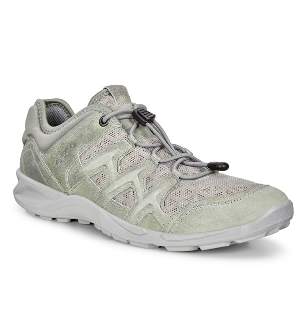 Ecco Terracruise Lite Leather - Lightweight mesh and leather outdoor trainers.