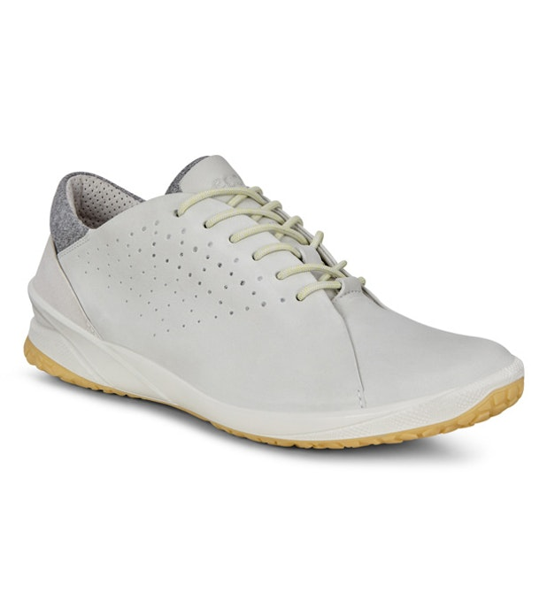Ecco Biom Life Lace Up  - Sporty leather trainers.