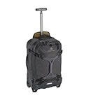 View Eagle Gear Warrior Wheel Duffel Int Carry On - Jet Black