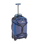 View Eagle Gear Warrior Wheel Duffel Int Carry On - Arctic Blue