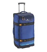 Viewing Eagle Expanse Wheeled Duffel 100 Litre - Eagle Creek – Stylish, 100l duffel with book-style opening.