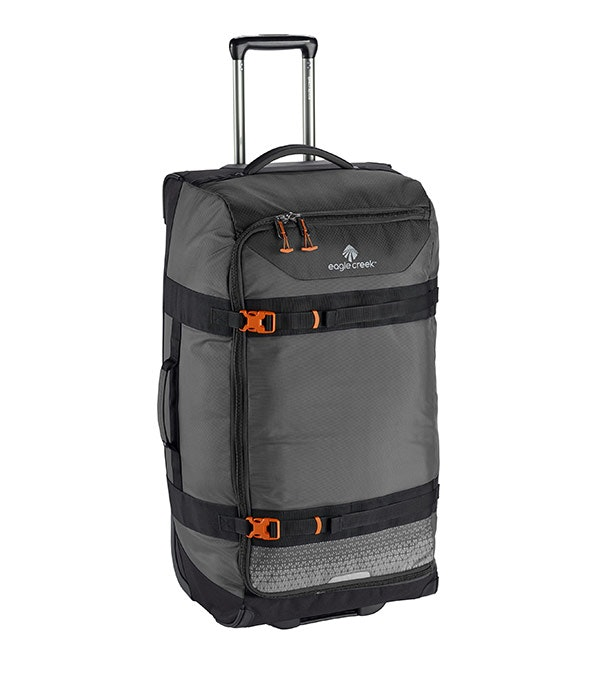 Eagle Creek – Stylish, 100l duffel with book-style opening.