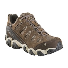 Rugged, waterproof trekking shoe.