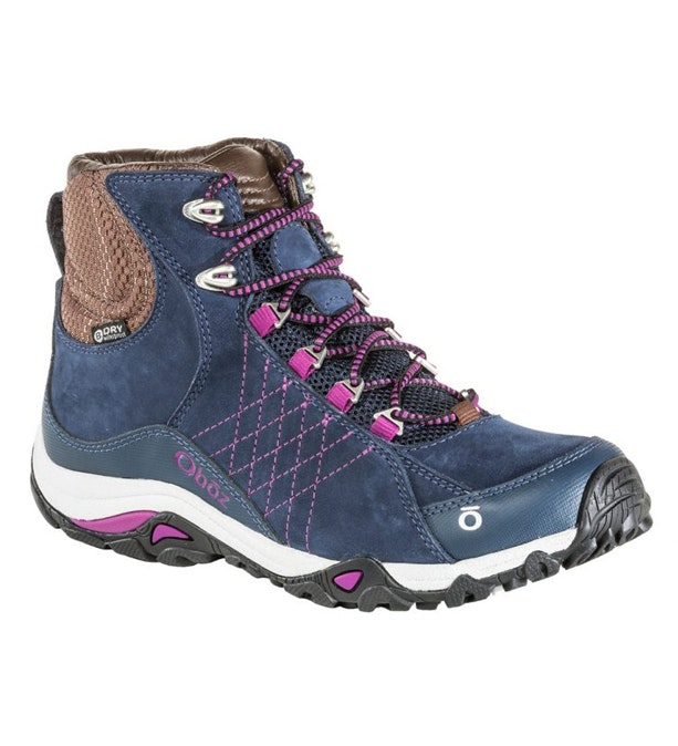 61da8825eaa Women's OBOZ Sapphire Mid B Dry - Rugged, waterproof walking boot.