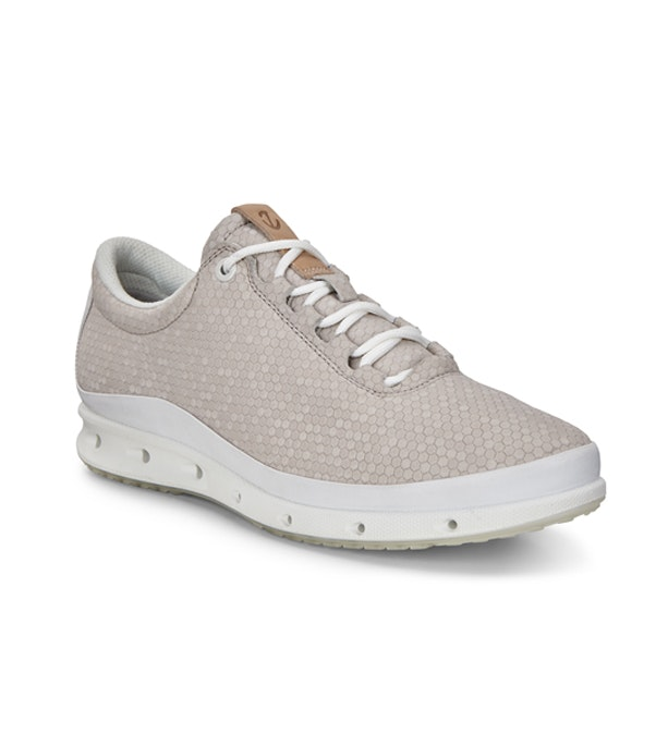 ECCO Cool GTX  - Waterproof leather travel and everyday trainers.