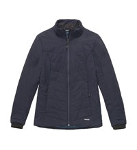 Lightweight, versatile wadded jacket.
