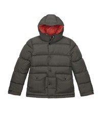 Super-warm down coat for cold-weather travel.