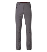 Technical, functional trekking trousers.