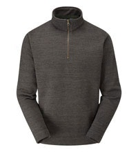 Classic mid-weight fleece with a ventilating neck zip.