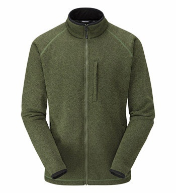 Technical fleece jacket with understated good looks.