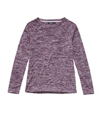Warm, crew neck pullover for everyday and travel.