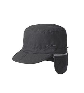 Packable, waterproof winter hat.