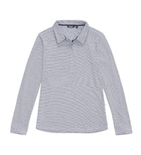 Functional jersey-style travel polo.