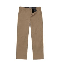 Fleece-lined trousers for cold-weather travel.