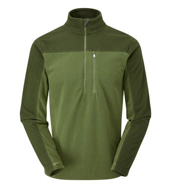 Multi-purpose technical fleece mid-layer.
