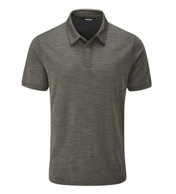 Smart, technical, merino-blend polo.