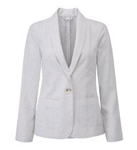 Smart, casual Performance Linen™ travel jacket.