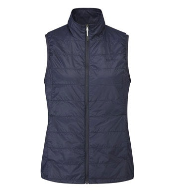 Lightweight, insulated vest for travel and active outdoor wear