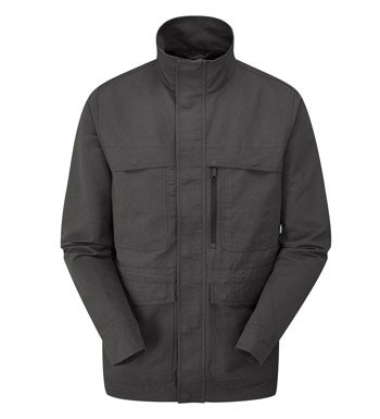 Rugged, practical multi-pocket jacket.