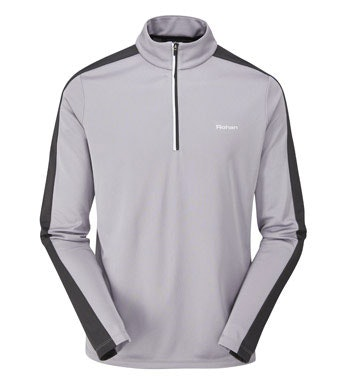 Moisture-wicking, anti-bacterial performance base layer.