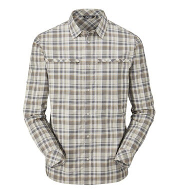 Good looking, cotton-feel shirt which won't let you down in the heat.