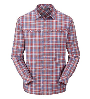 Lightweight, cotton-feel shirt for hot weather.