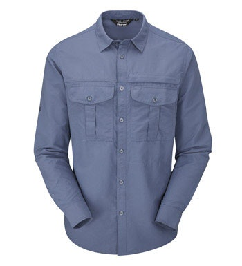 Tough trekking shirt with UV and insect protection.