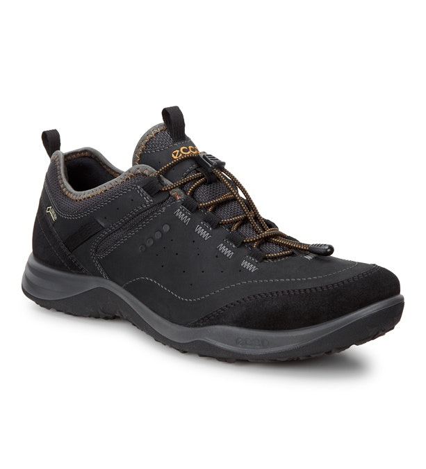 High-performance, waterproof travel shoes.
