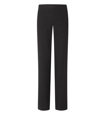 Smart casual, linen blend wide leg trousers.