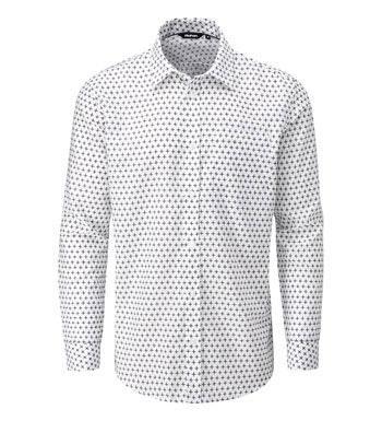 Stylish smart casual shirt in an eye catching print.